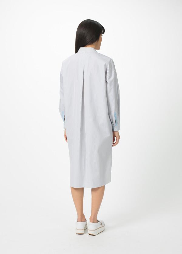Odeeh Shirtdress with Stripe Trim