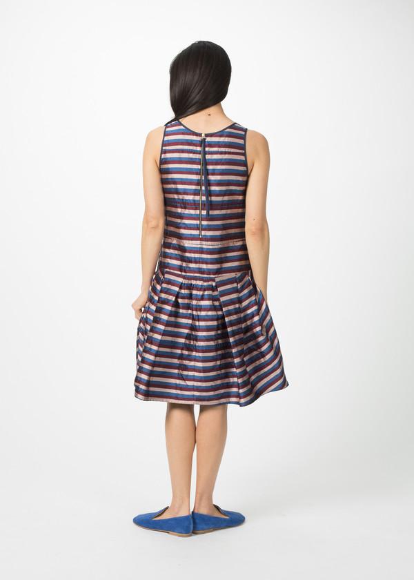 Odeeh Sleeveless Multi-Pleat Dress