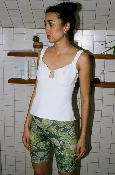 Rachel Comey Spike Top - White