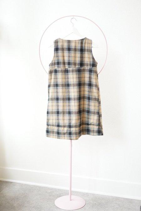 Backtalk PDX Vintage Wool Plaid Dress