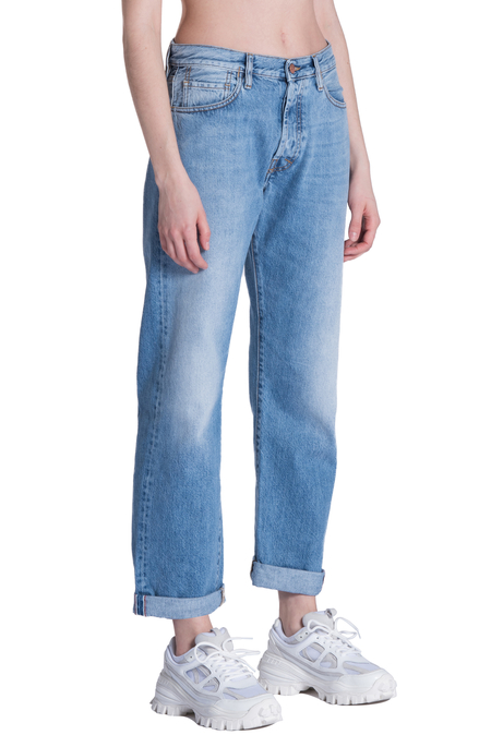 aries lilly selvedged jeans - pale