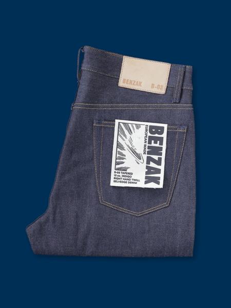 Benzak B-03 Tapered Selvedge Jeans - Indigo