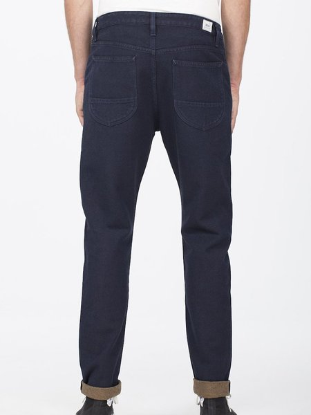 Benzak BP-01 10 oz. Worker Pants - Indigo/Brown Twill