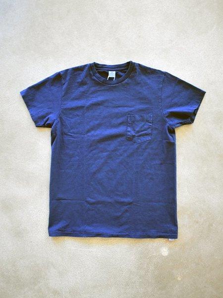 Velva Sheen Crewneck Tee - Blue Indigo