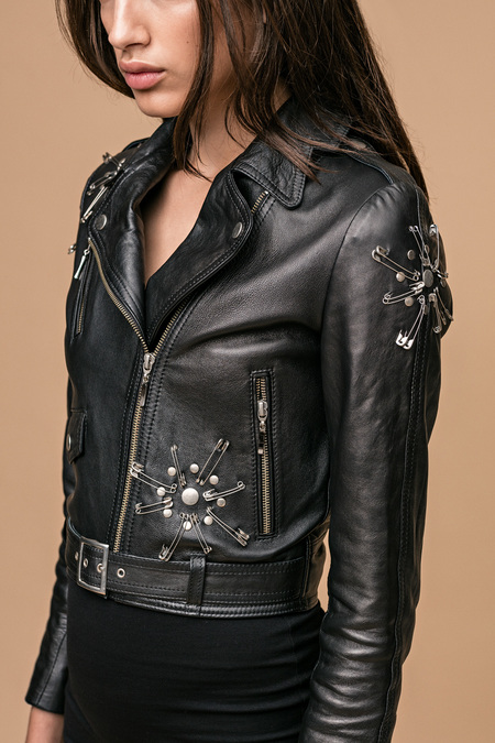 House of Matching Colors FIRE JACKET - black