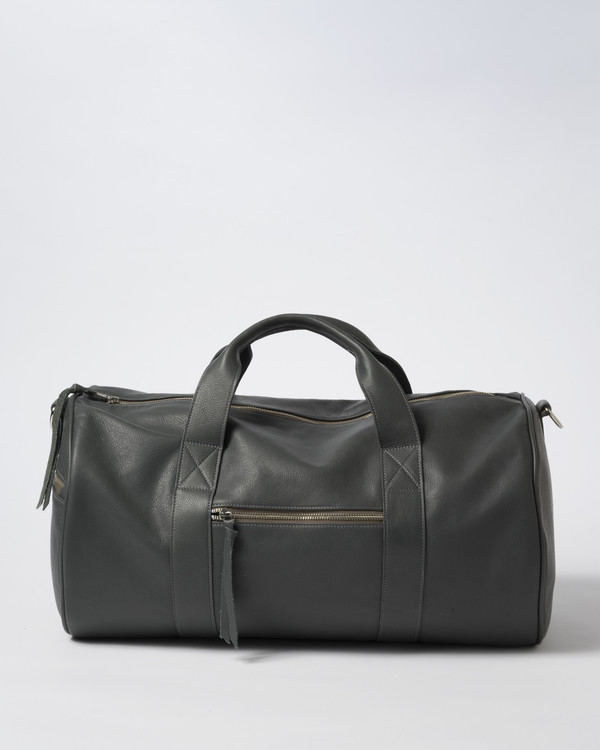 Clyde Duffel Bag in Concrete Grey