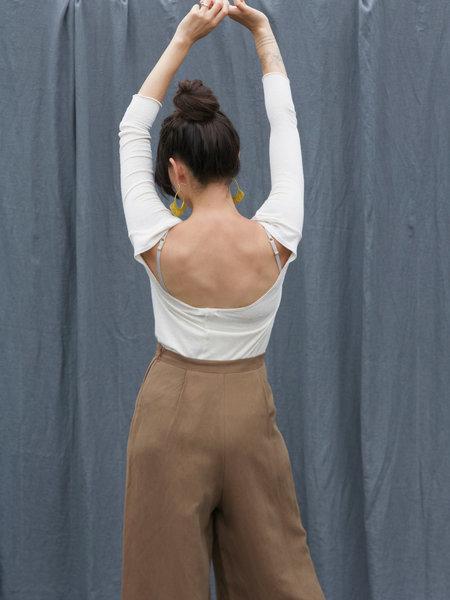 Ozma Ballet Top - Ivory