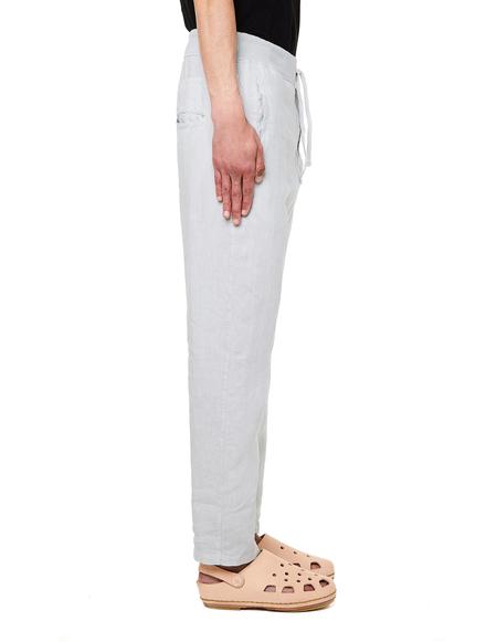 120% Lino Linen Trousers - Grey