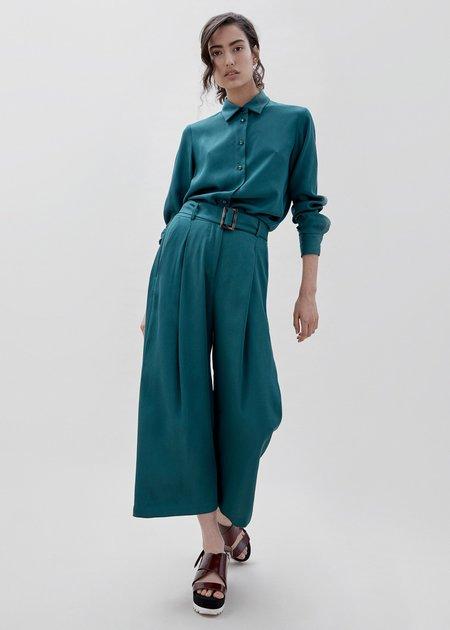 Milk & Thistle Luna Pant - Teal Green