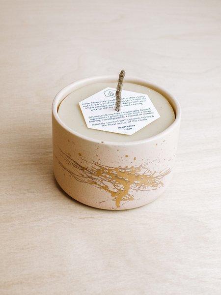 Lux et Terr Pepo Ceramics Tumbler Candle - Pink