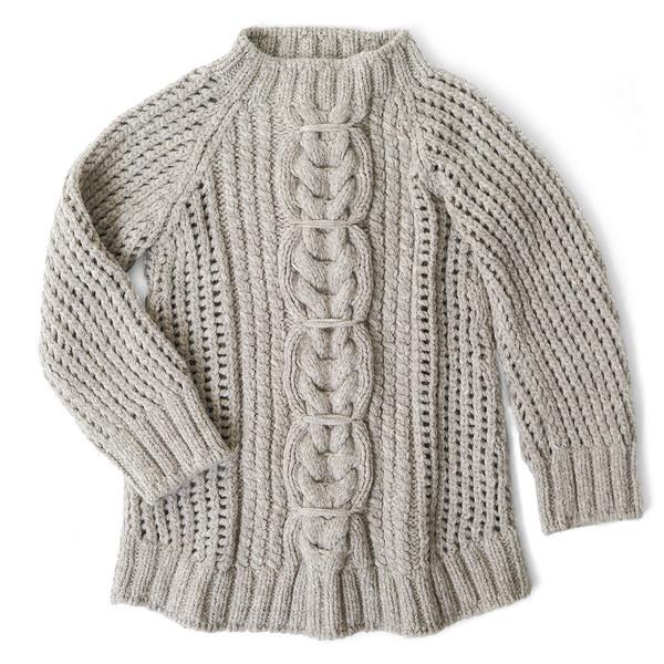 Erica Tanov alpaca fisherman sweater