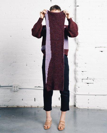 Paloma Wool Lua Scarf - Dark Mauve