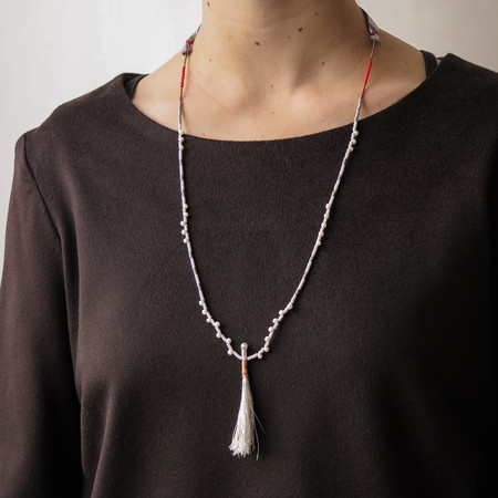 ariel clute necklace - Silver