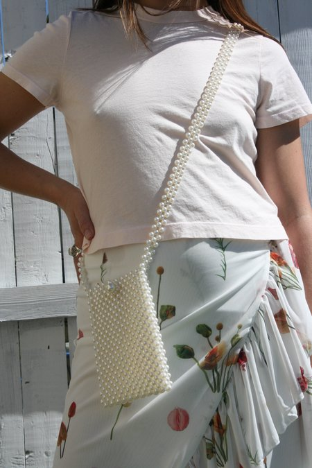 AMBER SCEATS Cosette Handbag - Pearls