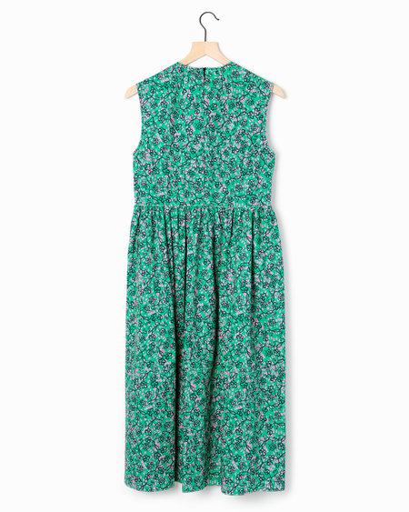 Marni Floral Sundress - green