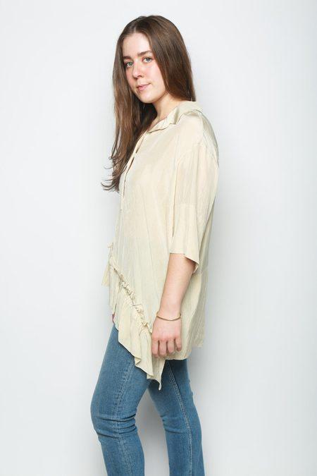Marni Polo Neck Shirt - Pearl