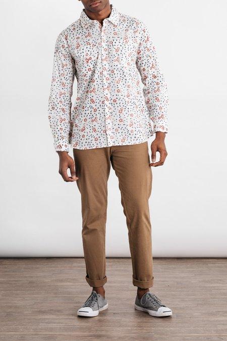 Bridge & Burn Cole Shirt - Hibiscus Print