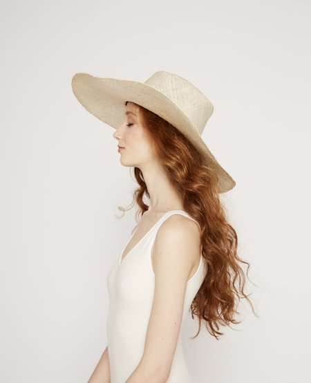 Brookes Boswell Optimo Packable Straw Hat - Natural