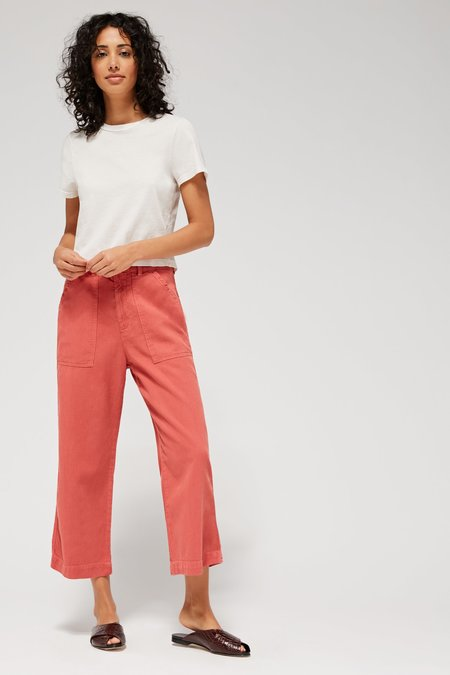 Lacausa Stella Trousers - Rhubarb
