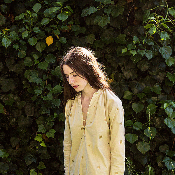 Erica Tanov étoile belden blouse