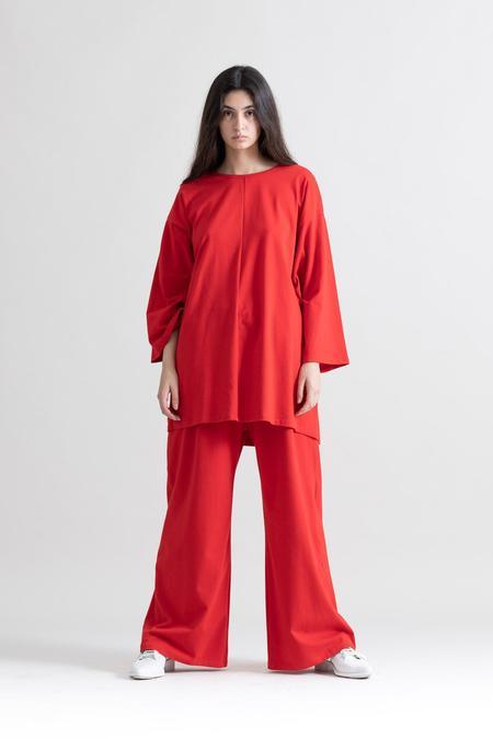 Toit Volant Caligula Pants - red