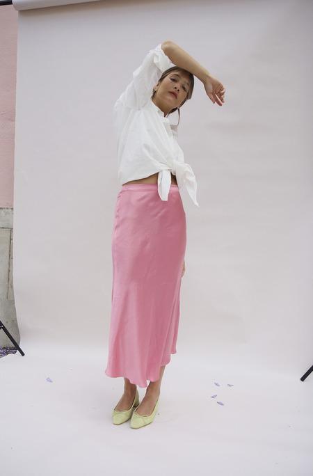 Bird on A WIRE Bia Skirt - Shocking Pink