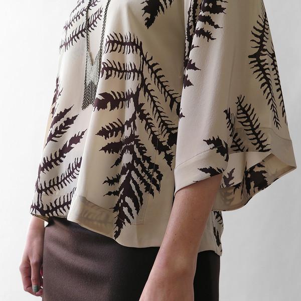 Erica Tanov luce blouse