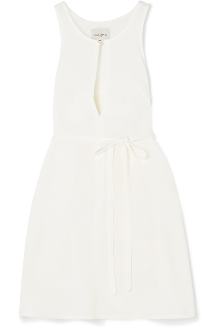 Le Kasha Rosetta Dress - Cream