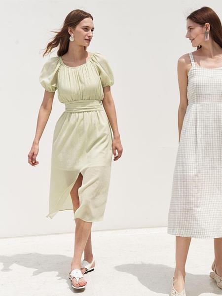 KOLLAB OZ Tender Dress - Lemongrass