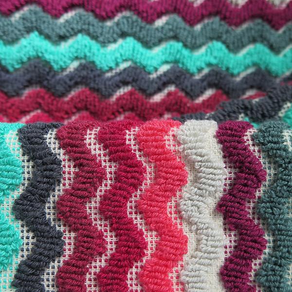 Michele Keeler zigzag towel