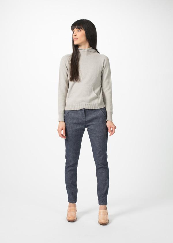Evam Eva Seamless Hooded Pullover