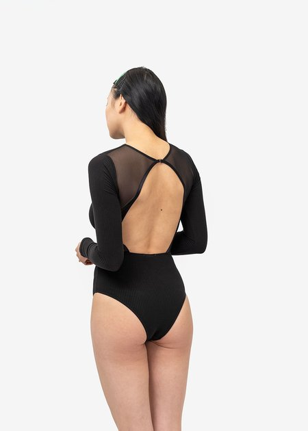 Angie Bauer Mulberry Bodysuit