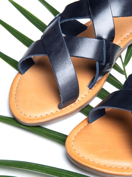 BLNC Cross Sandal - Navy