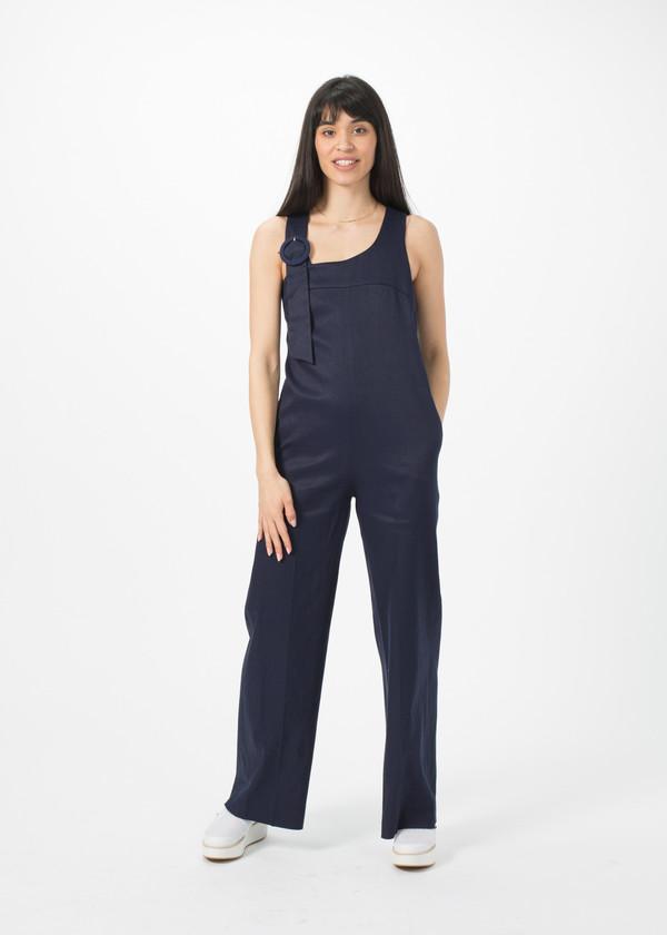 Sayaka Davis Asymmetrical Strap Jumpsuit