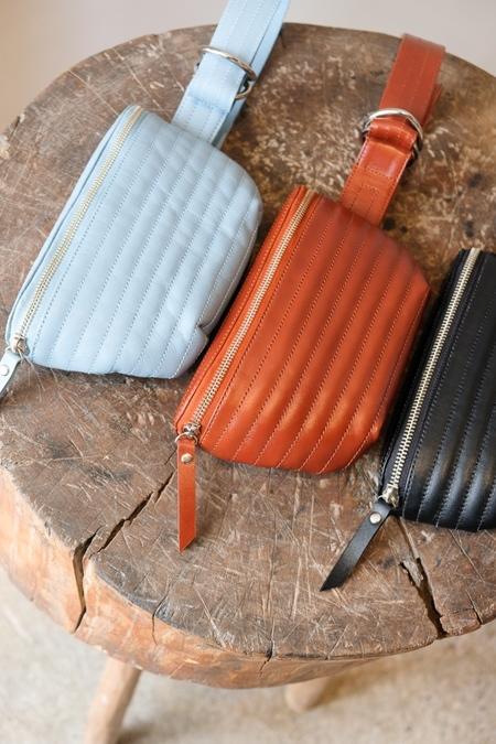 Beklina Ribbed Belt Bag