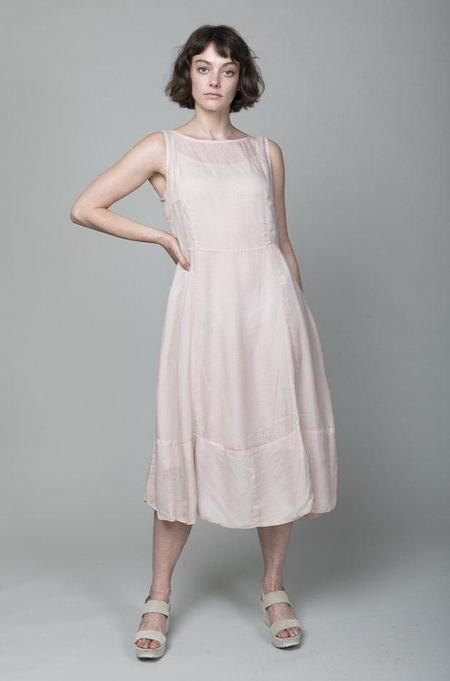 Sula Clothing LTD. Silk Organza Dress - Silver Peony