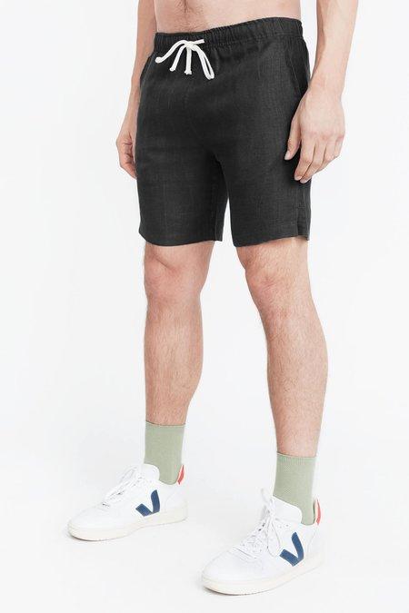 Alex Crane Night Bo Shorts - Black