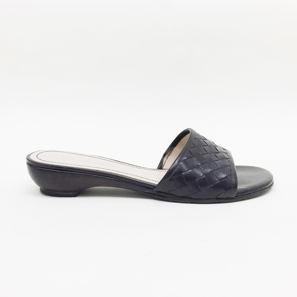 Johan Vintage Woven Slip On Sandal
