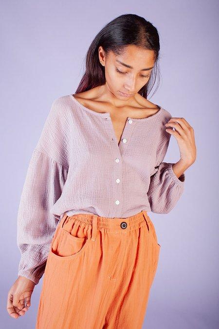 L.F.Markey Fletcher Shirt - Lavender