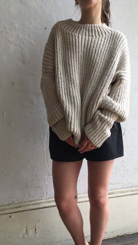 Lauren Manoogian Rib Boucle Pullover