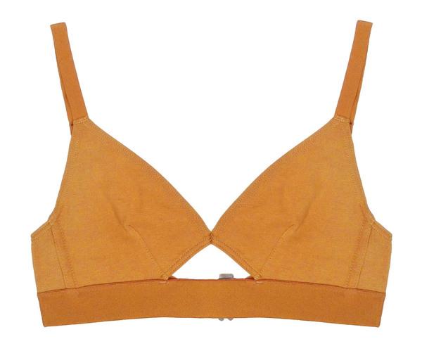 The Nude Label Cut Out Bra- Caramel