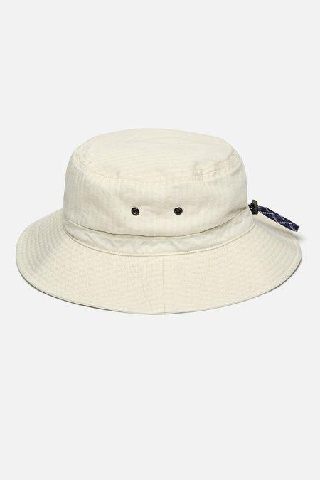5b78f799d58edc Cableami Herringbone Bucket Hat - Ecru