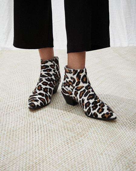 Nanushka RISA Ankle boots with western heels - Ocelot