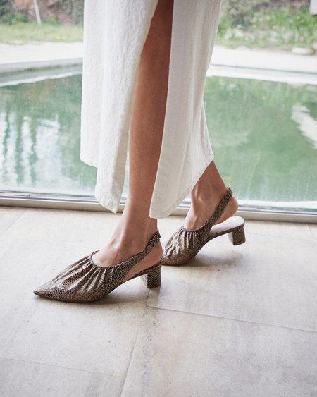 Nanushka SHA Pointy slingback - Brown