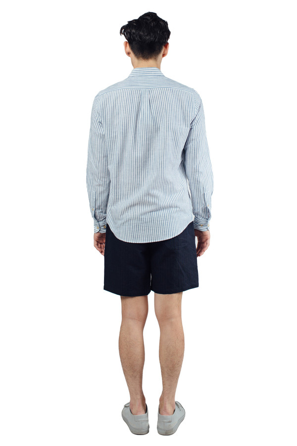 Men's Portuguese Flannel Espiga Buttondown Blue