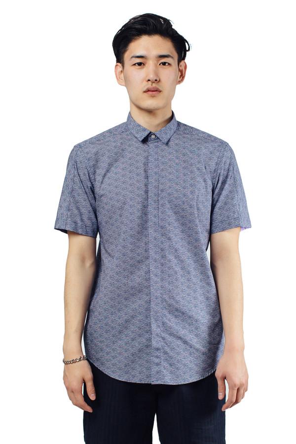 Men's Journal Quad Shirt Navy