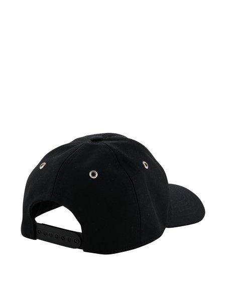 AMI Smiley Patch Cap - Black