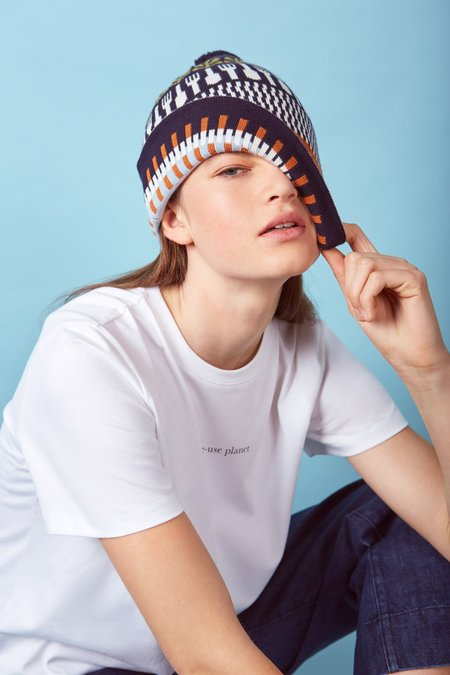 Kowtow Special Edition Single-Use Planet Beanie