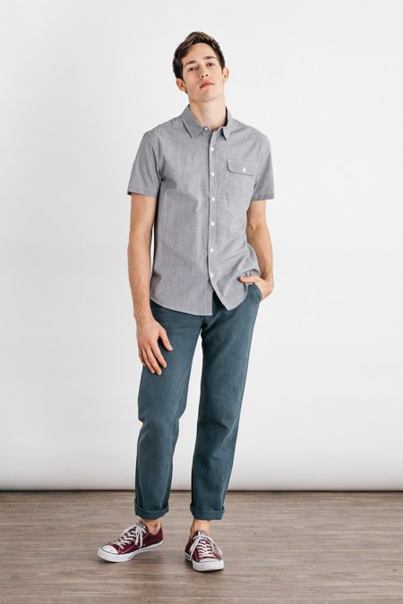 Bridge & Burn Marten - Charcoal Pinstripe