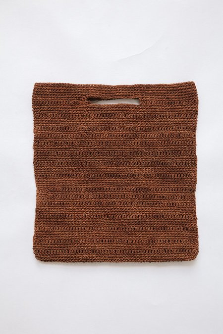 Pampa Litoral Woven Clutch #0358